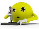 ballguy - joystick poster