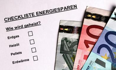 Checkliste Energiesparen II