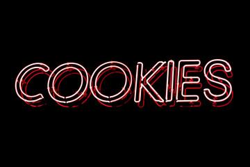 Cookies neon sign