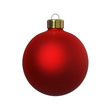 Christmas decoration red ornament