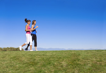 Women Jogging & Fitness