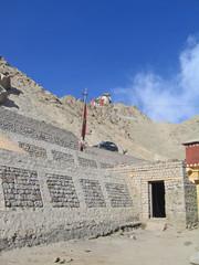 Ladakh, India, capital Leh, mountain furnish.