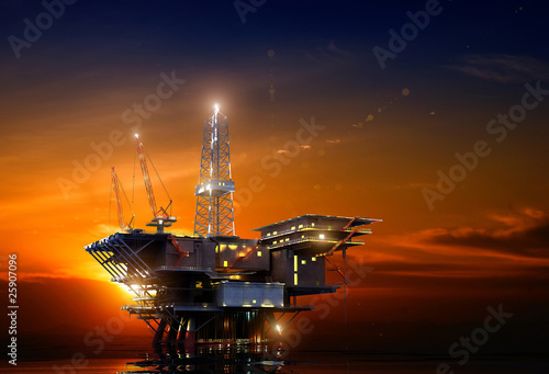 Oil Rig - 25907096