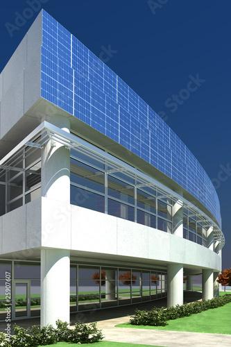 Bibliothek mit Solarversorgung