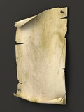 old blank manuscript as background