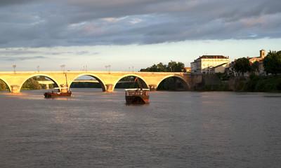 Bateaux sur la Dordogne