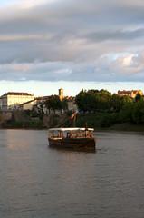 Bateau sur la Dordogne