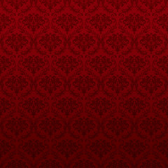 Seamless pattern wallpaper, red