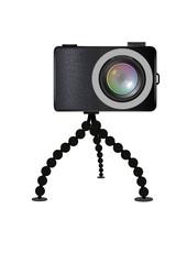 Kamera mit Tischstativ 2
