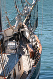 Bow of sailing ship