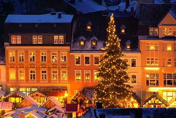 Annaberg-Buchholz Weihnachtsmarkt  01