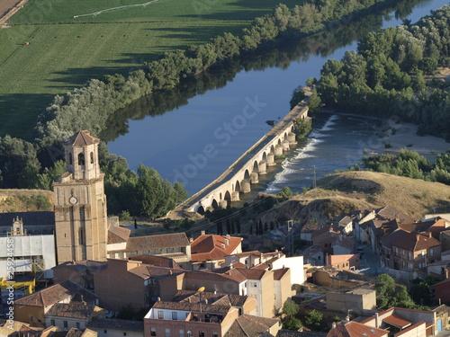 Vista aerea de Toro (Zamora)
