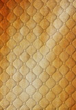 burlap  picture of genuine leather upholstery poster