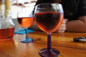 verres de rosé