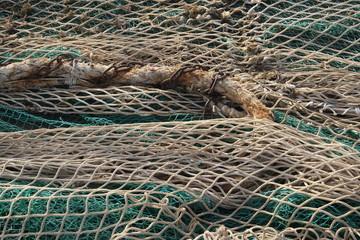 rete da pesca pescatore