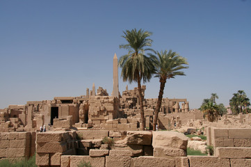 of Karnak Temple at Luxor