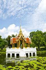 The pavilion on lotus pool