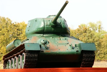 The Soviet tank of times of the second world war