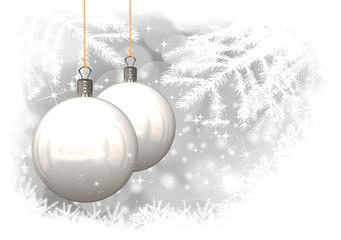 Tradicional fondo de Navidad, ilustración  Tarjeta de Navidad