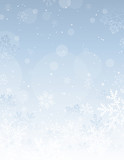 Fototapety silver christmas background, vector