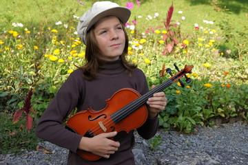 Romantik pur: Der Junge mit der Violine