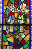 Holy Orders, Seven Sacraments, Stained glass