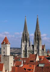 Dom in Regensburg - Cathedral in Regensburg (Germany)