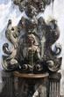 Leinwanddruck Bild - Fountain of five senses - Bom Jesus do Monte