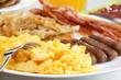 Leinwanddruck Bild - Hearty Breakfast