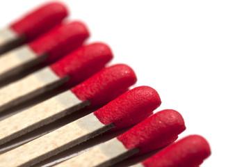 Allumettes rouges