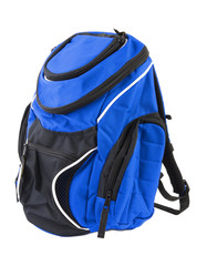 Blue backpack | Isolated