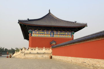 the scenery of temple of heaven