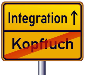 Kopftuch – Integration
