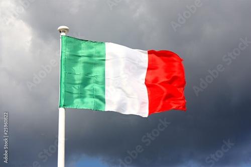 italienische flagge von hero lizenzfreies foto 25960822 auf. Black Bedroom Furniture Sets. Home Design Ideas