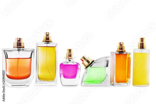 Leinwanddruck Bild Perfume bottles