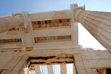 Propylaea Close Up View