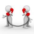 A brief telephone conversation