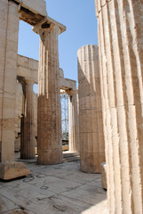 Acropolis Close Up Columns