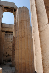 Close Up of Columns, Athens