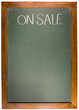 On sale Copy space green Chalk Board