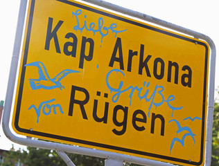Am Kap Arkona auf Rügen