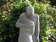 Friedhofsstatue: Paar