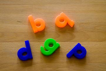 Buchstaben zum Verwechseln