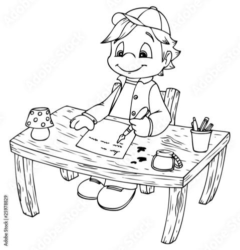 Gamesageddon junge schreibtisch hausaufgaben for Schreibtisch grundschule