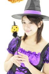 ハロウィン・女性