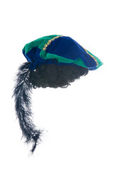 The cap of black Pete- a dutch tradition