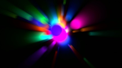 color circle light,disco neon ray light