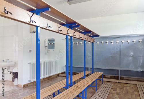 Fotobehang Stadion Spogliatoio atleti