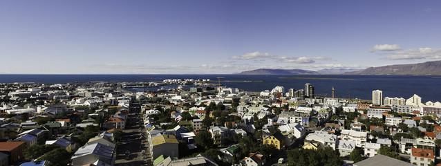 Reykjavik panorama - Iceland