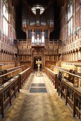 College Chapel in Cambridge University.